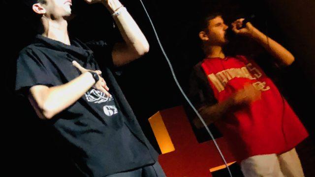 El rapero Grilex en concierto epj2019